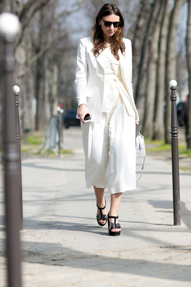 Paris Fashion Week A / I 2015: street style.  Part 7 (17 foto)