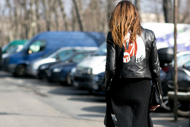 Paris Fashion Week A / I 2015: street style.  Part 7 (6 foto)