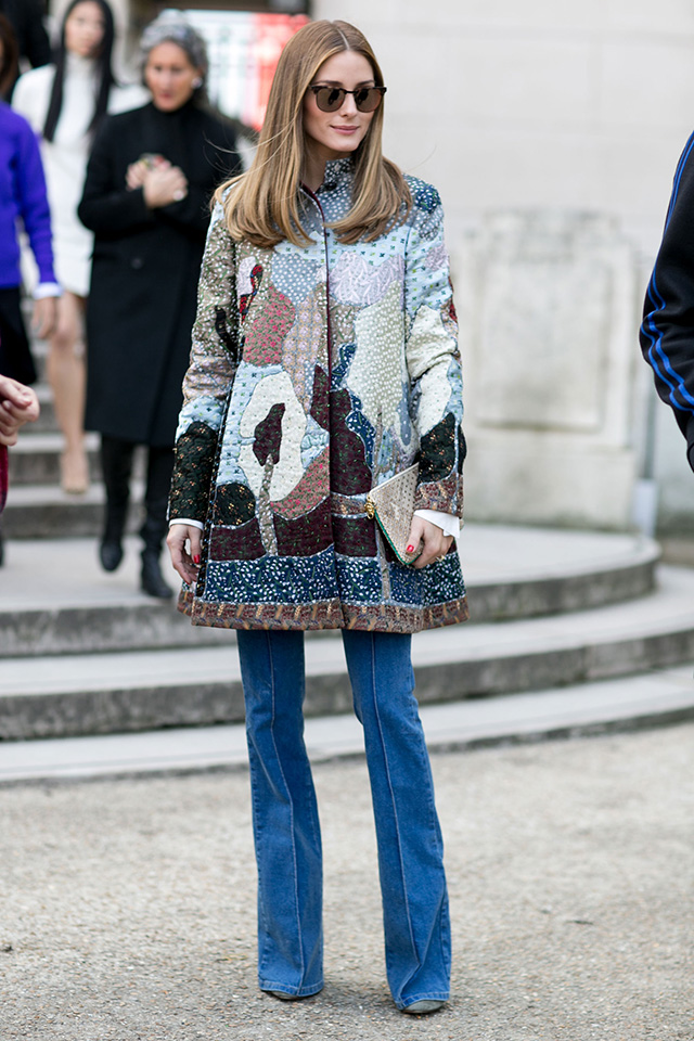 Paris Fashion Week A / I 2015: street style.  Part 7 (15 foto)