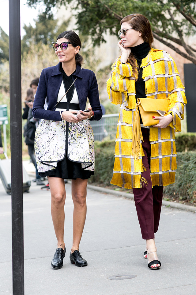 Paris Fashion Week A / I 2015: street style.  Part 7 (13 foto)