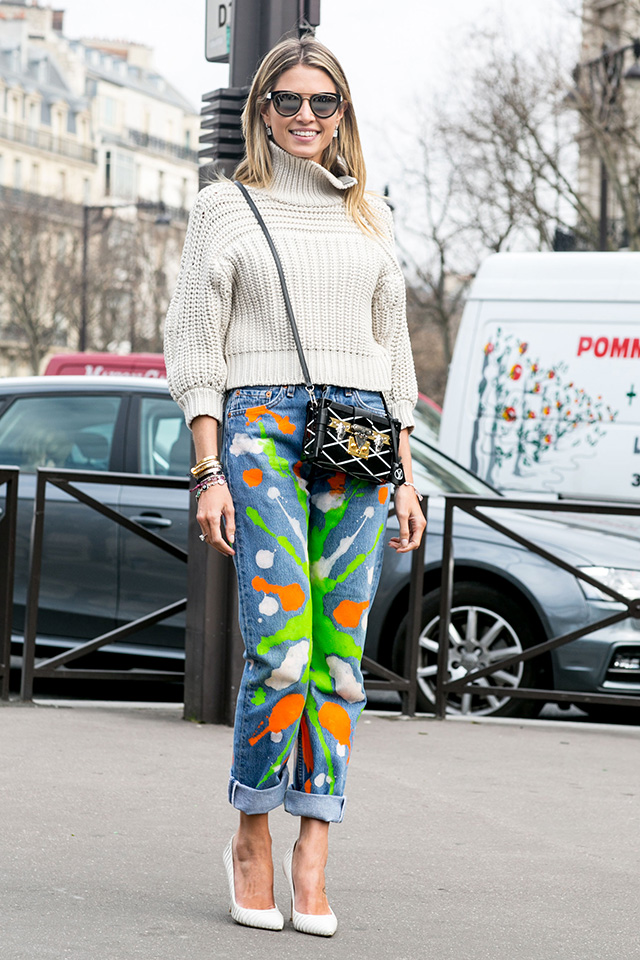 Paris Fashion Week A / I 2015: street style.  Part 7 (19 foto)