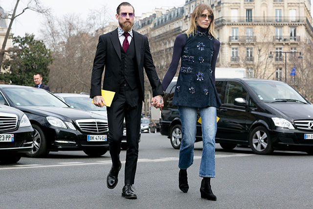 Paris Fashion Week A / I 2015: street style.  Part 7 (foto 2)
