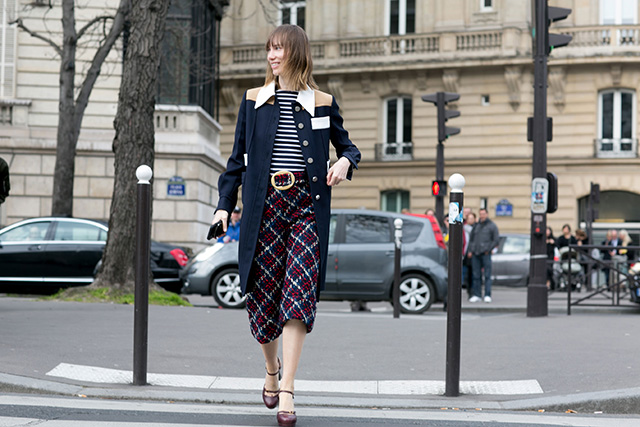 Paris Fashion Week A / I 2015: street style.  Part 7 (10 foto)