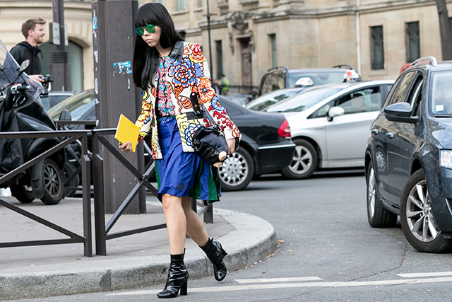 Paris Fashion Week A / I 2015: street style.  Part 7 (26 foto)