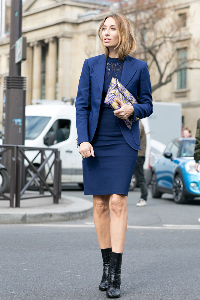 Paris Fashion Week A / I 2015: street style.  Part 7 (23 foto)
