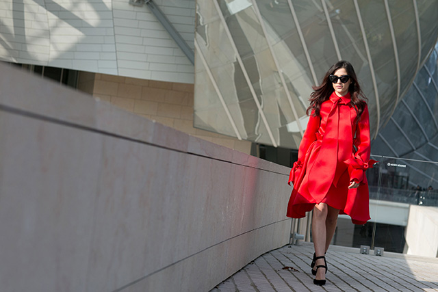 Paris Fashion Week A / I 2015: street style.  Part 7 (22 foto)