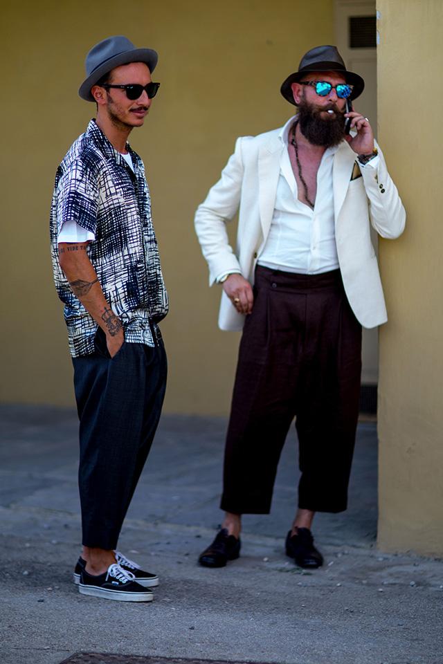 Street style на Pitti Uomo, весна-лето 2016. Часть I (фото 21)