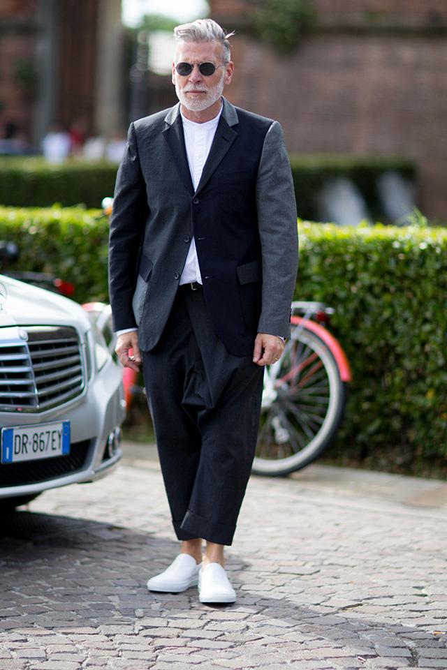 Street style на Pitti Uomo, весна-лето 2016. Часть I (фото 1)