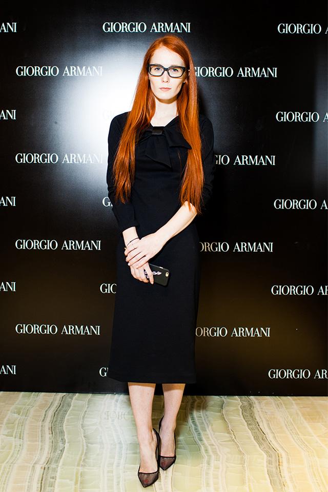 Открытие нового бутика Giorgio Armani в Третьяковском проезде (фото 8)