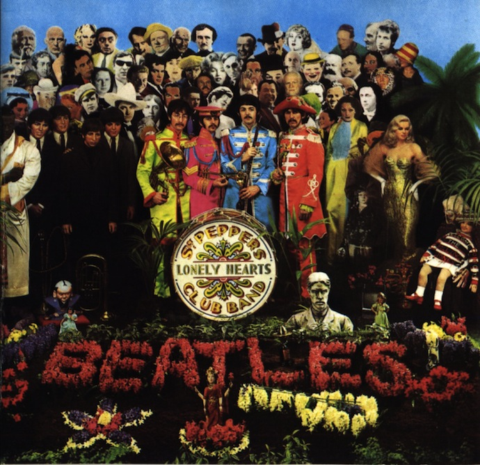 Обложка альбома The Beatles Sgt. Pepper's (1967)