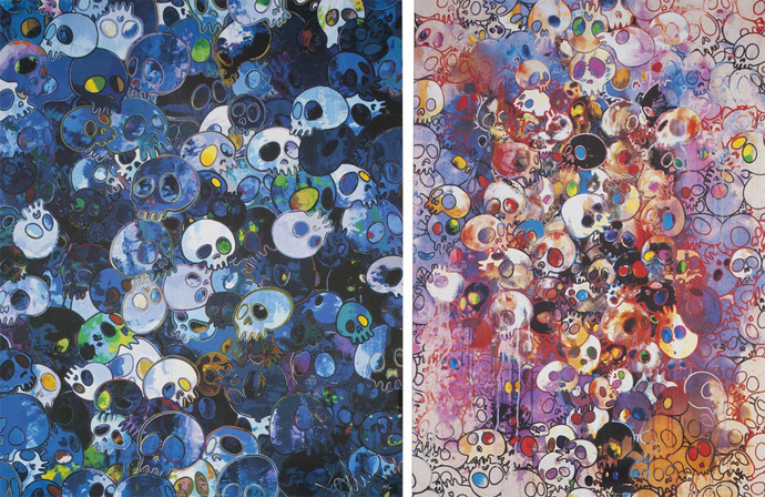 """Two Prints by the Artist,"" Takashi Murakami"