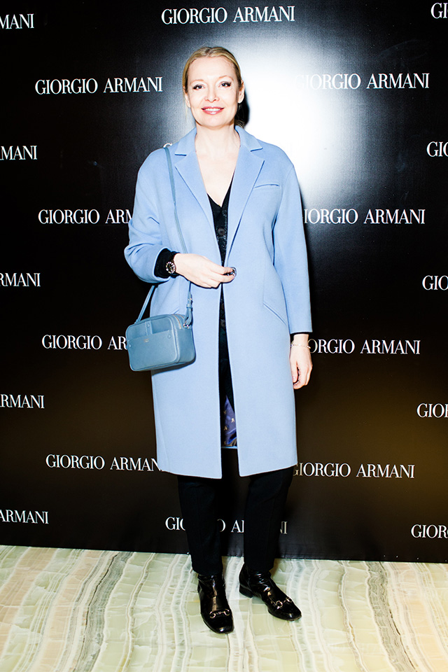 Открытие нового бутика Giorgio Armani в Третьяковском проезде (фото 2)
