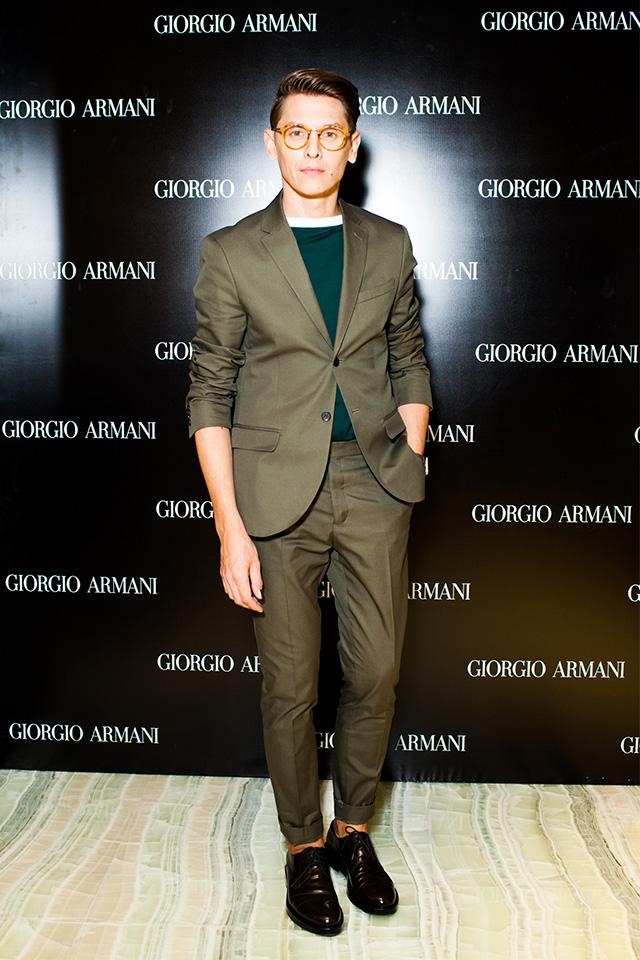 Открытие нового бутика Giorgio Armani в Третьяковском проезде (фото 9)