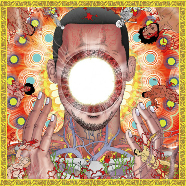 "Обложка альбома Flying Lotus — ""You're Dead!"""