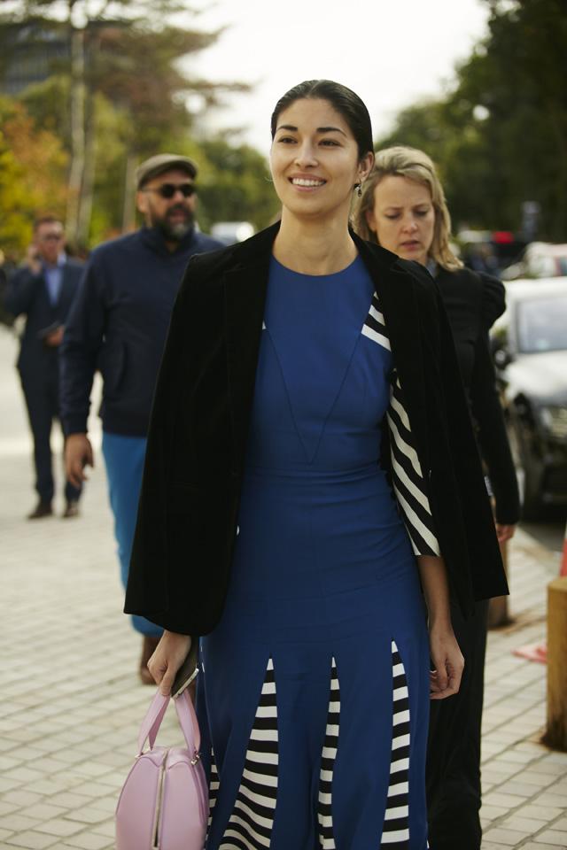 Неделя моды в Париже, весна-лето 2016: street style. Часть 5 (фото 1)