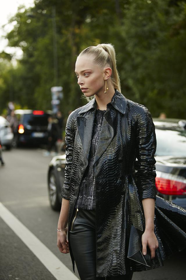 Неделя моды в Париже, весна-лето 2016: street style. Часть 5 (фото 11)