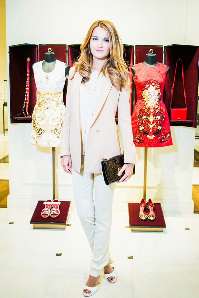 Открытие бутика Dolce & Gabbana в Москве (фото 9)