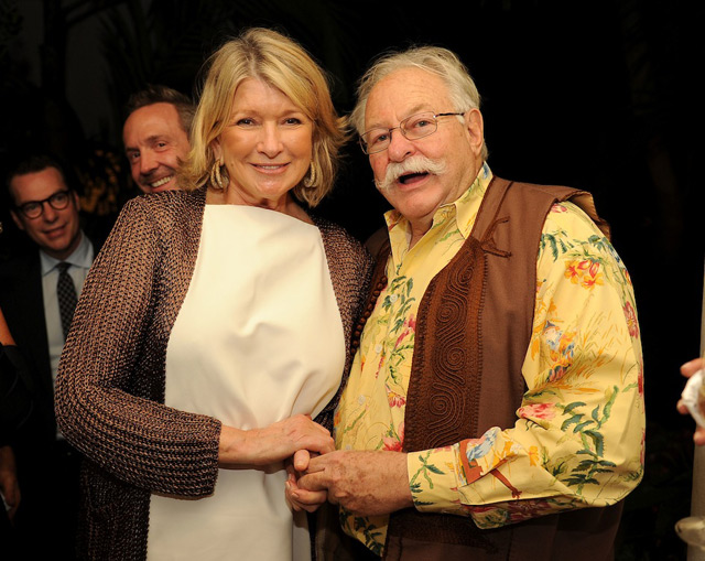 Martha Stewart and Micky Wolfson