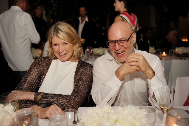 Martha Stewart and Craig Robins