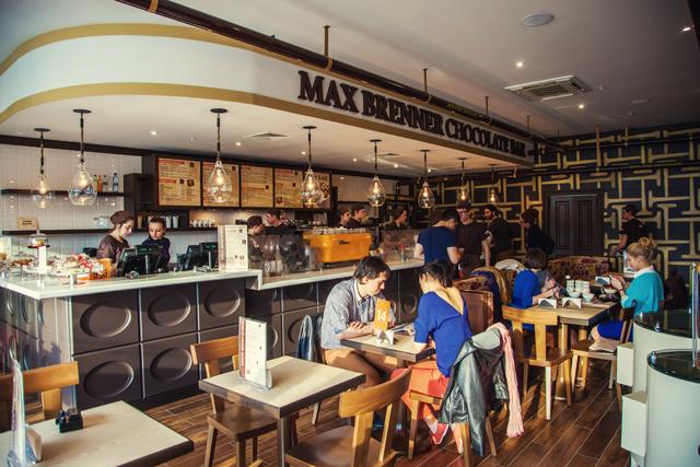 В Москве открылся первый шоколадный бар Max Brenner (фото 1)