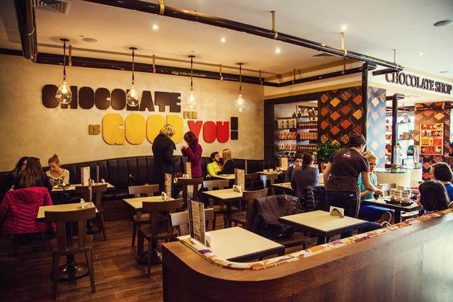В Москве открылся первый шоколадный бар Max Brenner (фото 2)