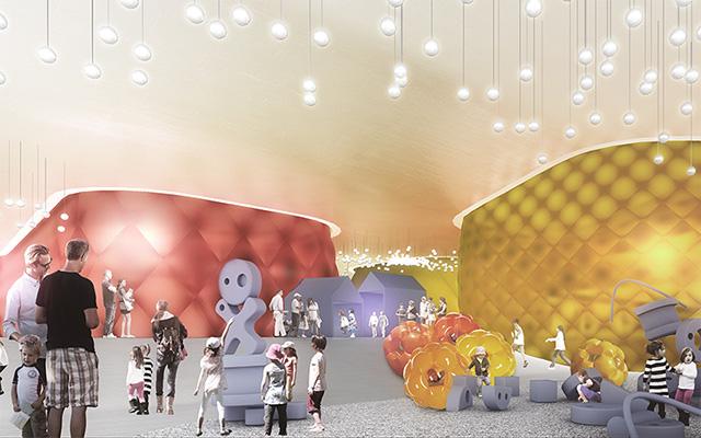 Детский музей в виде конфеты в американском штате Кентукки (фото 2)