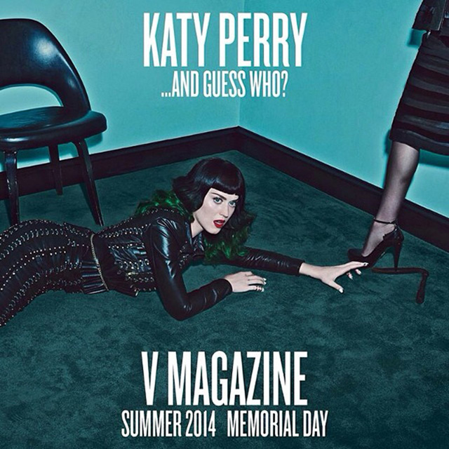 Мадонна и Кэти Перри в cъемке для V Magazine, Buro 24/7