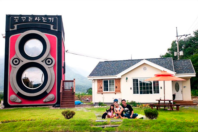 Верится с трудом: кофейня Dreaming Camera в Южной Корее (фото 5)