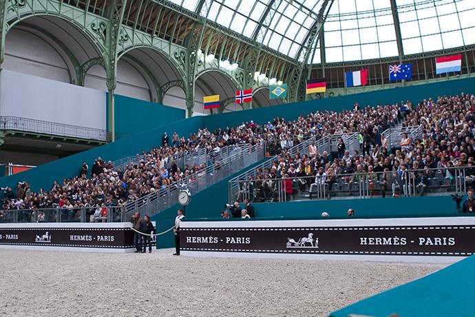 Скачки Saut Hermès в Париже (фото 19)