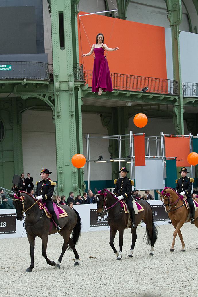 Скачки Saut Hermès в Париже (фото 14)