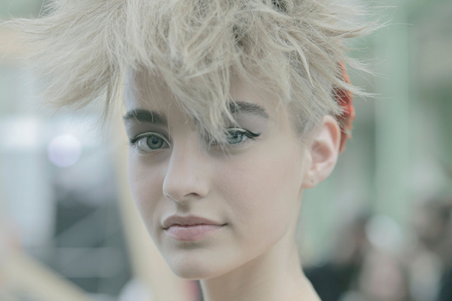 Chanel Couture, осень-зима 2014: beauty-backstage (фото 7)