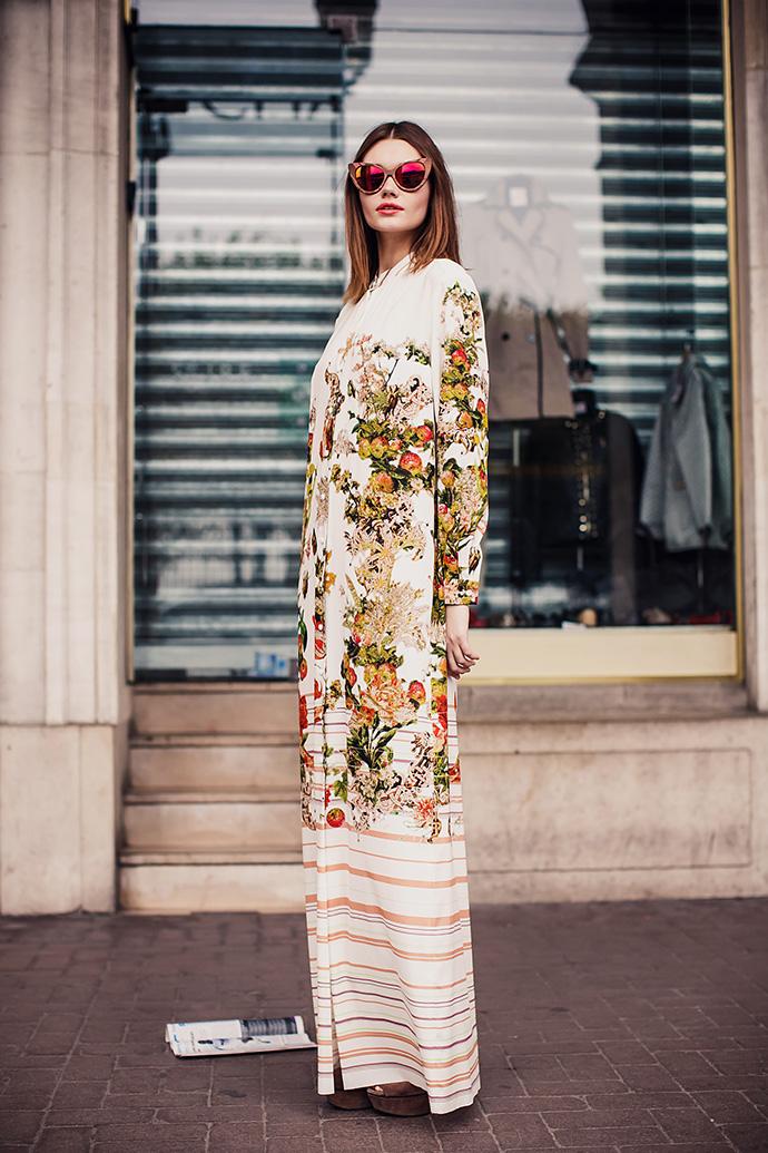 Рюсс пейзан платье