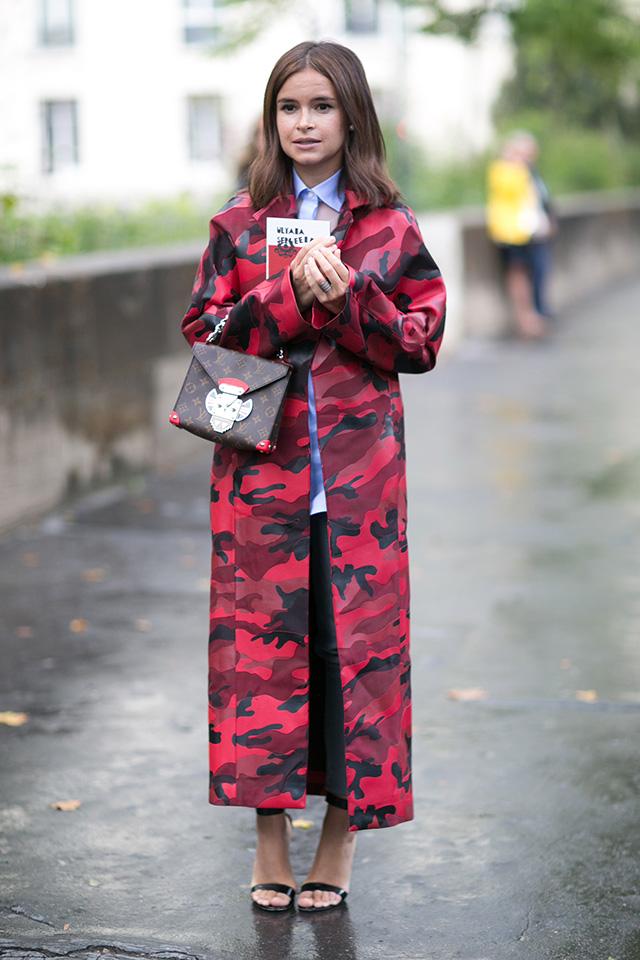 Высокой моды в париже street style часть 2