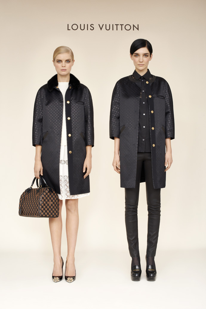 Лукбук коллекции pre-fall Louis Vuitton