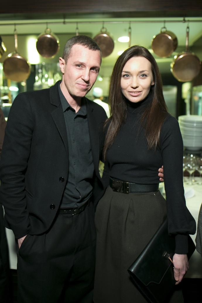 Игорь Верник и Евгения Милова