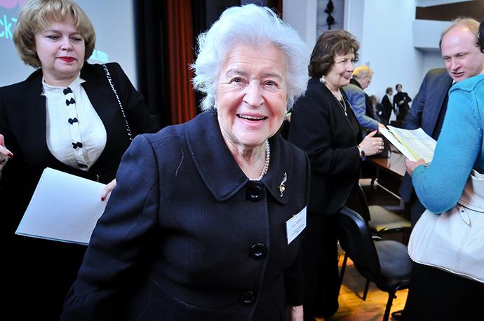 Ирина Антонова стала главным куратором российских музеев (фото 1)