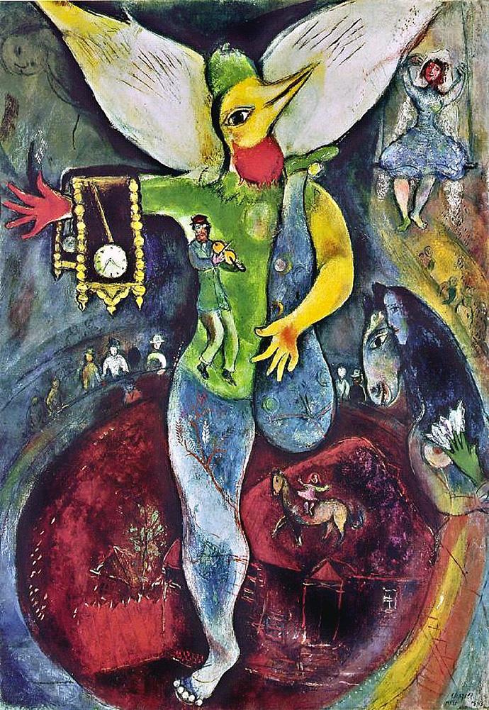 Выставка Марка Шагала открылась в Нью-Йорке (фото 1)