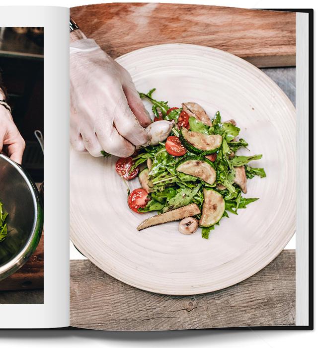 салат с кальмарами в паназиатском стиле от Кристиана Лоренцини (фото 11)