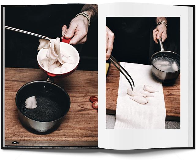 салат с кальмарами в паназиатском стиле от Кристиана Лоренцини (фото 6)