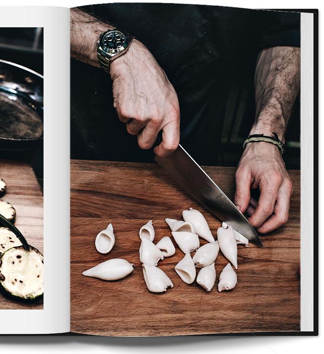 салат с кальмарами в паназиатском стиле от Кристиана Лоренцини (фото 7)