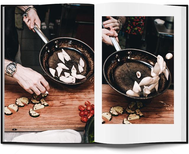 салат с кальмарами в паназиатском стиле от Кристиана Лоренцини (фото 8)