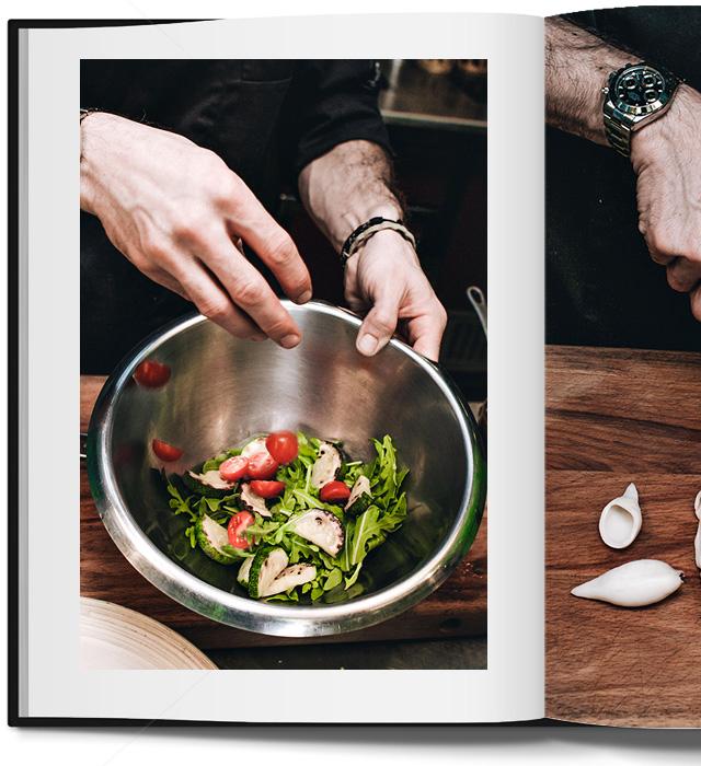 салат с кальмарами в паназиатском стиле от Кристиана Лоренцини (фото 9)