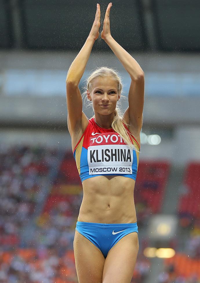 Дарья Клишина демонстрирует себя голышом. Бесплатное онлайн видео и фото