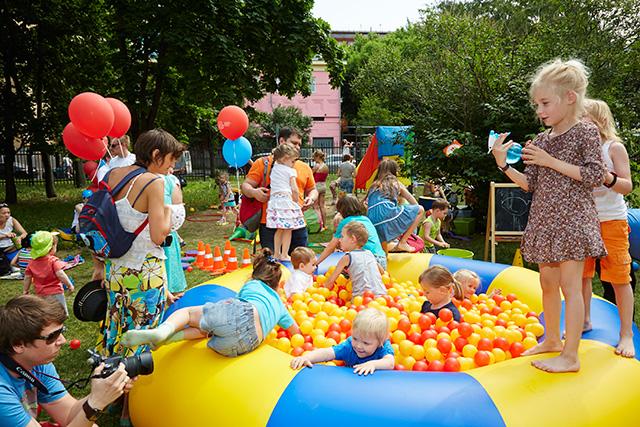 """Английский детский фестиваль в парке искусств """"Музеон"""" (фото 10)"""