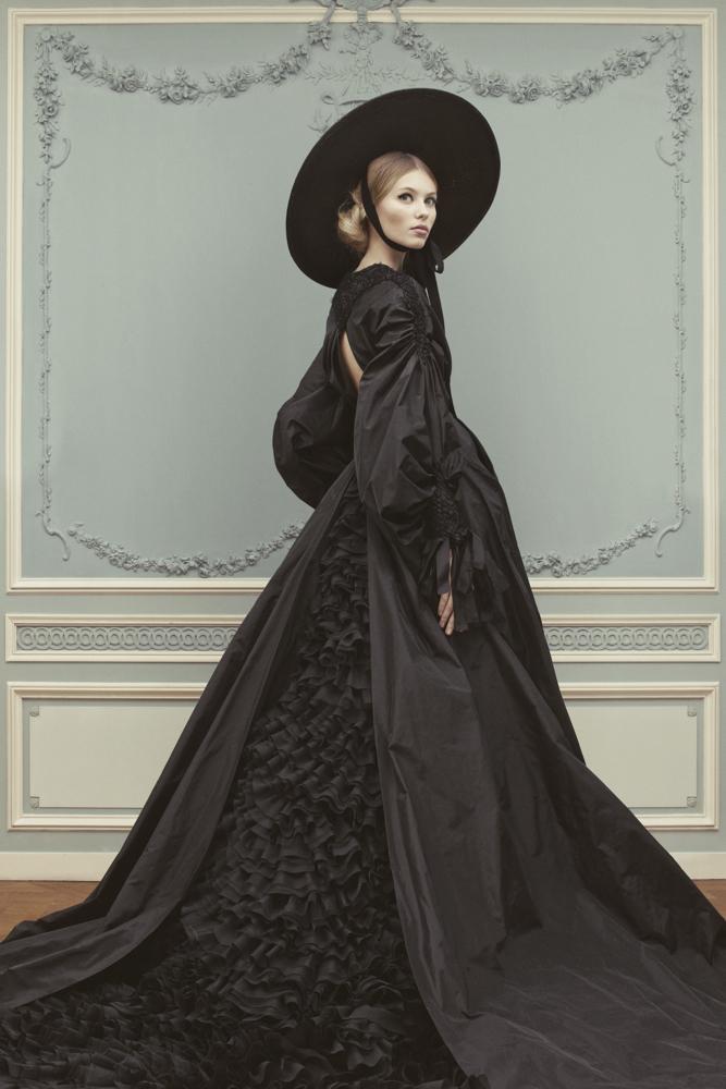 Лукбук коллекции Ulyana Sergeenko Couture весна-лето 2013