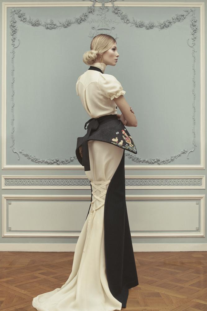 Лукбук коллекции Ulyana Sergeenko Couture весна-лето 2013 (фото 10)