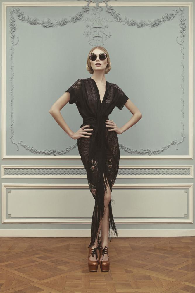Лукбук коллекции Ulyana Sergeenko Couture весна-лето 2013 (фото 5)