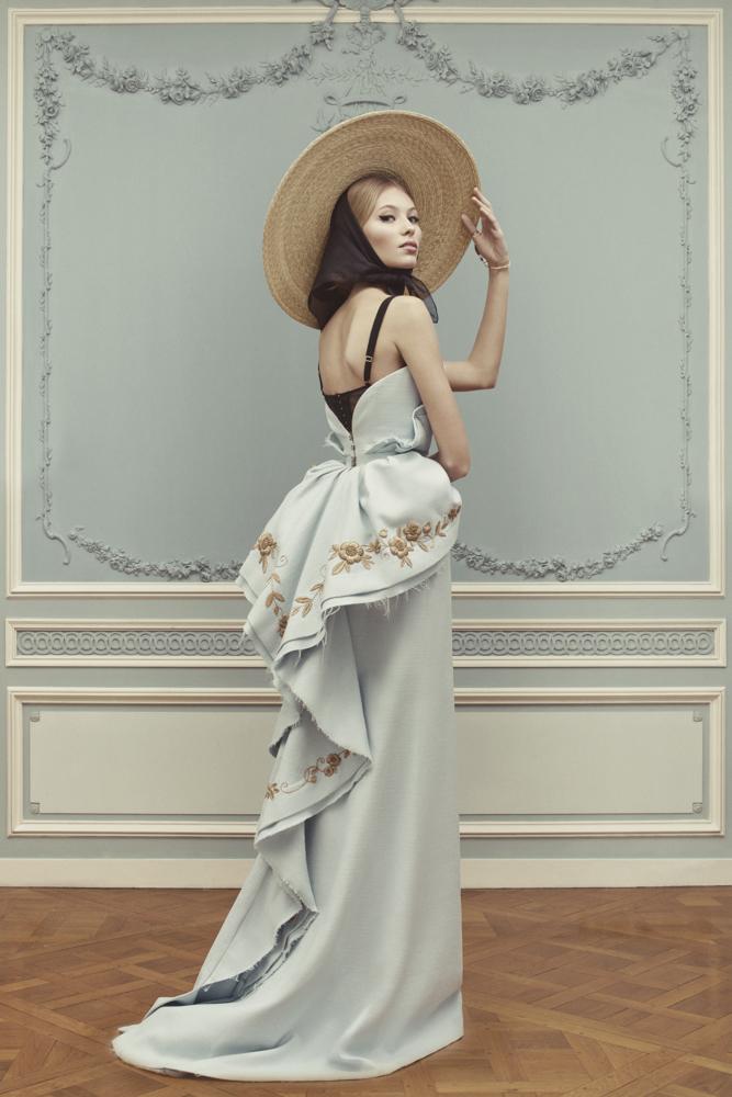 Лукбук коллекции Ulyana Sergeenko Couture весна-лето 2013 (фото 7)