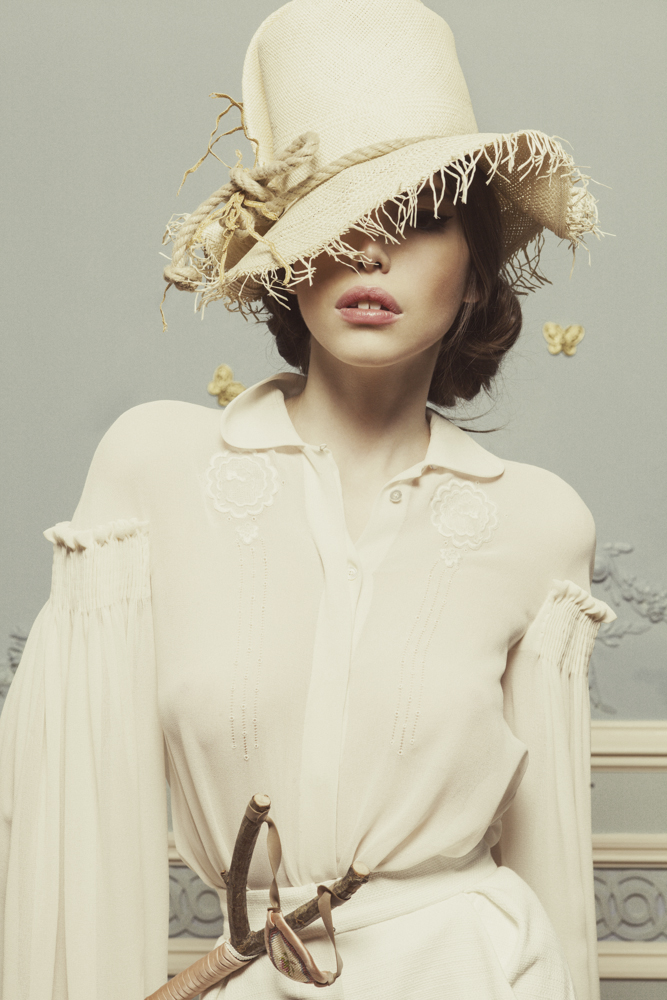 Лукбук коллекции Ulyana Sergeenko Couture весна-лето 2013 (фото 8)
