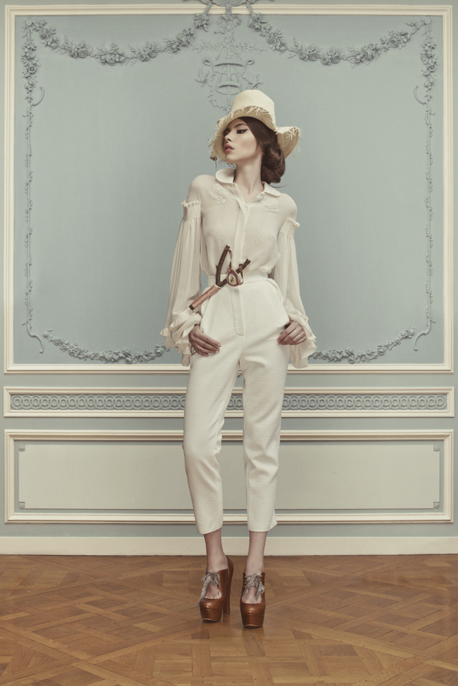 Лукбук коллекции Ulyana Sergeenko Couture весна-лето 2013 (фото 9)